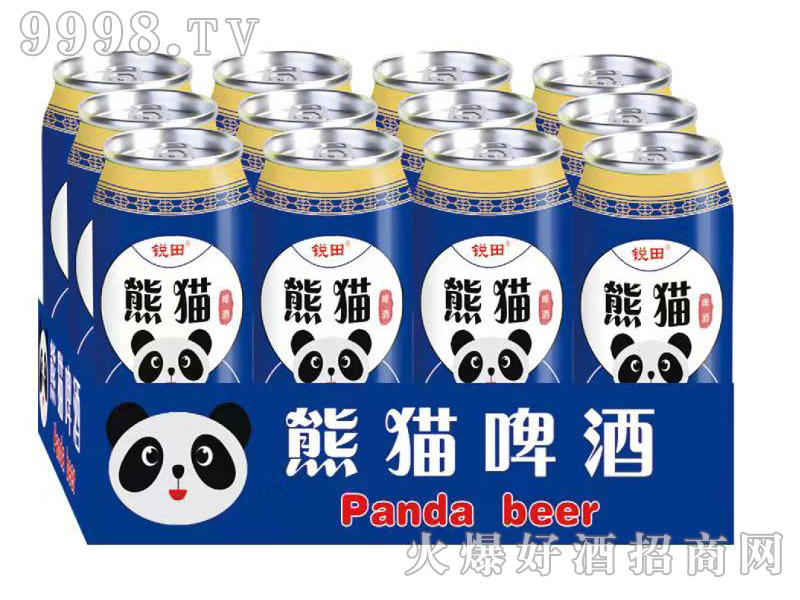 锐田熊猫啤酒半托